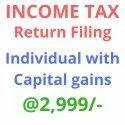 Income Tax Return Filing Capital Gains