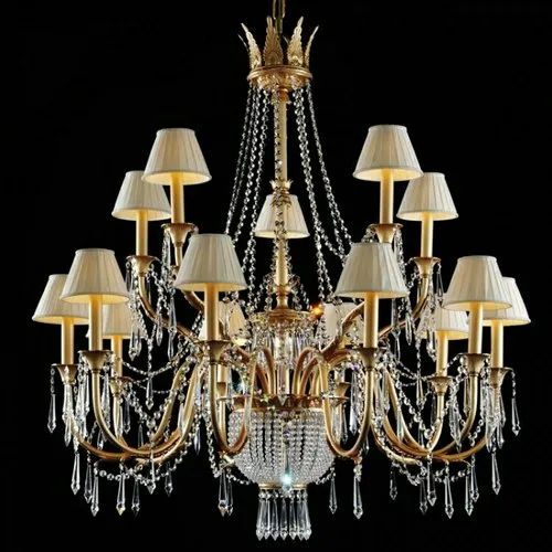 Crystal LED Lamp Chandelier