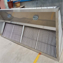 Stainless Steel 0-500 (m3/h) Commercial Kitchen Chimney