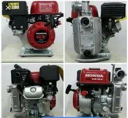 10 M Mild Steel Honda Pump Set, Max Flow Rate: 150 Lph