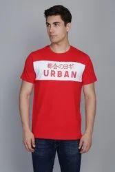 Ferrari Red and White Panel T-Shirt