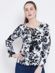 Ladies Full Sleeves Rayon Top