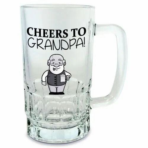Photoplus Glass Personalized Beer Mug