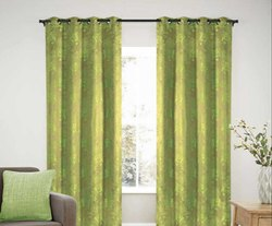 52 x 60 inch Green Jacquard Blackout Curtain