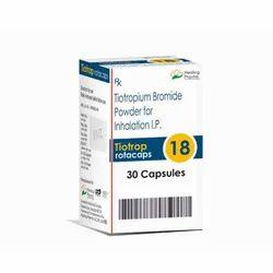 Tiotrop 18 Rotacaps  - Tiotropium Bromide 18 mcg