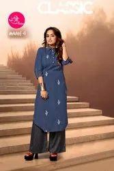 Stree Fashion Maahi Kurti With Bottom Pant Collection