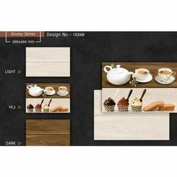 Navcera India Glossy 10 Mm Digital Ceramic Wall Tiles, For Home, 300x450mm