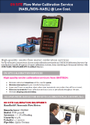 Flowmeter Calibration Service