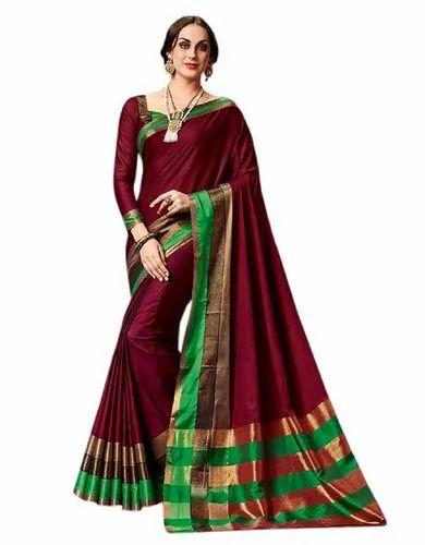 148bbbc5d8f Daily Wear Silk Saree