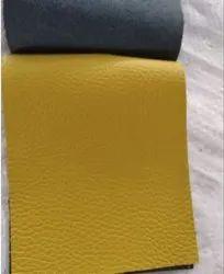 Yellow Italian upholstery leather