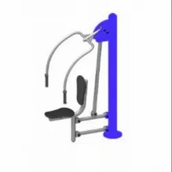 Single Chest Press Outdoor Equipment