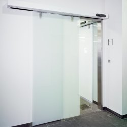 Stainless Steel Sliding Elevator Door, Interior
