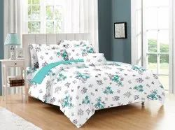 White Floral Bed Sheet