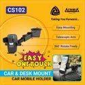 Plastic Black Extandable Arm Car Mobile Holder, Model Name/number: Cs102