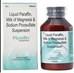 Liquid Paraffin, Milk Of Magnesia And Picosulphate Suspension