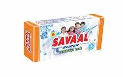 Jasmine Savaal Super Detergent Cake, Shape: Rectangle, Packaging Size: 175gram