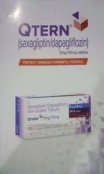 QTERN 10/5 ( Dapagliflozine  Saxagliptin 5)