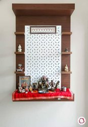 pvc Brown Pooja Unit, for Home
