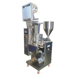 Ginger Garlic Paste Pouch Packing Machine
