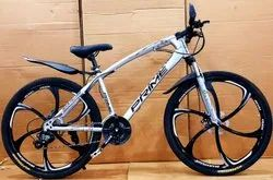 Prime Silver Jaguar Model 21 Gear Cycle, Wheel Size: 26 Inches