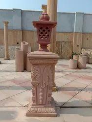 Red Sandstone Lantern