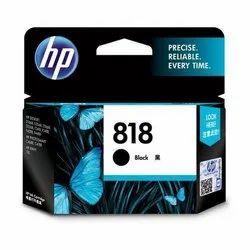 HP 818 Black Original Ink Cartridge (CC640ZZ)