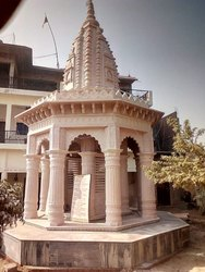 Pink Beige Stone Temple, for Home