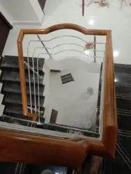 Top Wooden Handrail