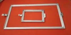Alluminium frame embroidery
