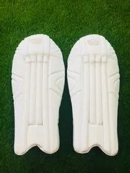 White Keeping Pads - Test Armour, Size: Men