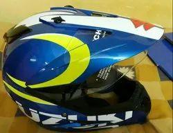 Fiberglass Suzuki Gixxer Sporty Helmet, Packaging Type: Box