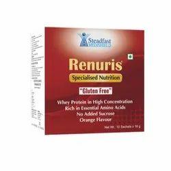 Steadfast Medishield Powder Renuris Specialised Nutrition, 10 Sachets X 16 G