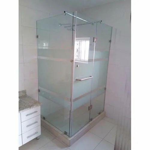 Transparent Glass Shower Cubicle