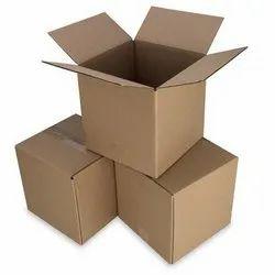 Brown Kraft Paper Corrugated Carton Box