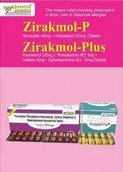 Paracetamol, Phenylepherine, Caffeine,Diphenhydramine