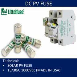 15Amp Solar Fuses Photovoltaic 1000 VDC SPF-15 Littelfuse SPF 15