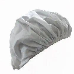 Plain Polyester Non Linting Cap Clean Room Garments for Food, Pharmaceutical, ESD And Semi Conductor
