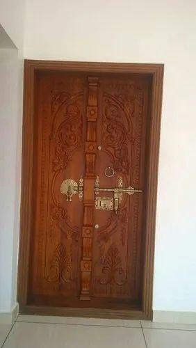 reputable site 6d628 6f41c Wooden Front Door