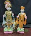 Handmade Marble Swami Narayan Statue