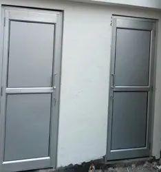 Aluminum ACP Doors