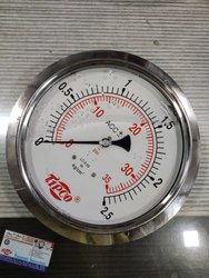 TIPCO Glycerin Filled Pressure Gauge