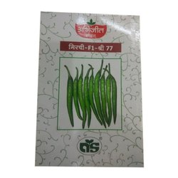 Abhijeet Seeds Chilli F1 Shri 77 Seed, Pack Size: 10 G