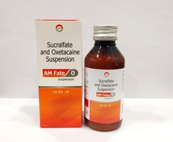 Sucralfate Suspension 1gm, Oxetacaine 20 mg Syrup