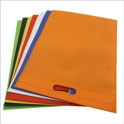 Plain Non Woven D Cut Carry Bag