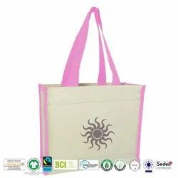 Eco Cotton Canvas Beach Bag