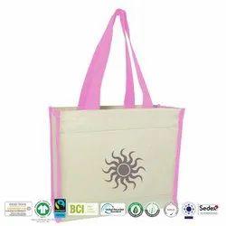 Eco Cotton Canvas Beach Bag