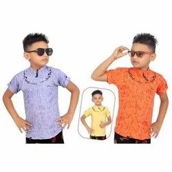 Kids Stylish Cotton Shirt