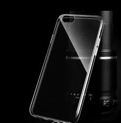 Pu Transparent Mobile Back Cover
