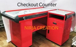 Check Out Counter Table
