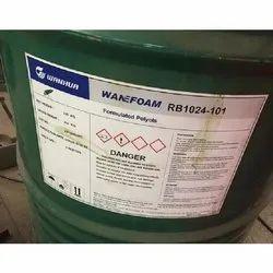 Pu Foam Rigid Polyol Wanefoam RB 1024 (China), For Mattress, Grade Standard: Industrial Grade